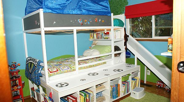 Best Playful Bed For Kids With Built In Slide Kid Beds Ikea 400 x 300