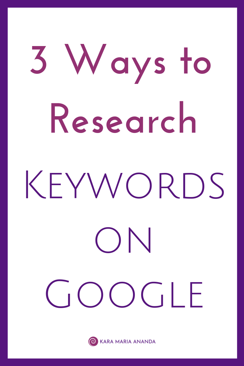 3 Ways To Research Keywords For Search Engine Optimization With Images Keyword Planner