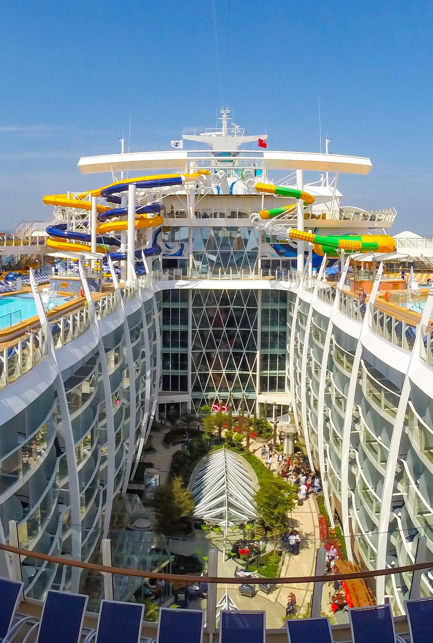 Harmony Of The Seas Ship Tour Explore By Sea Cruise