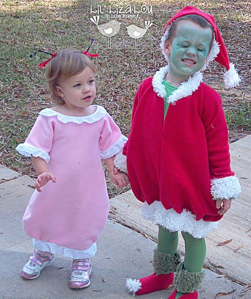 Grinch Cindy Lou Who Halloween Costume Contest At Costume Works