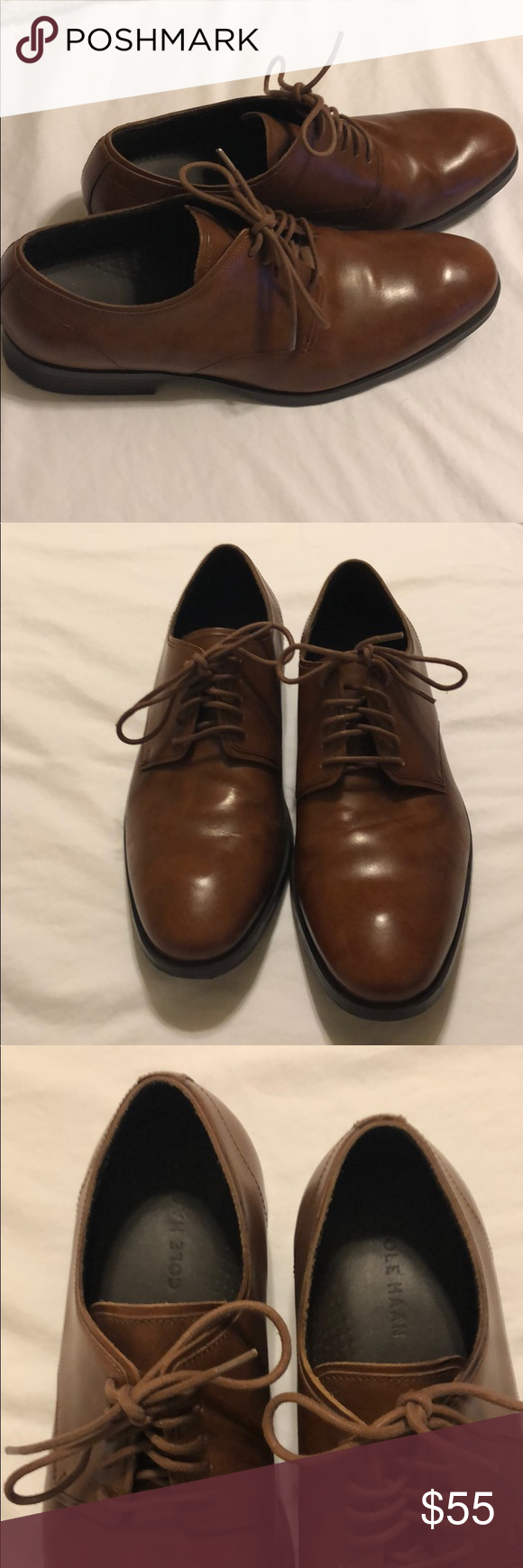 new products shop for official search for clearance Cole Haan Benton Plain Leather Derby II Brand New, worn once ...