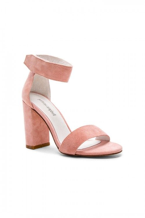 b6f05562275a Jeffrey Campbell Lindsay Pink Suede - Fox Maiden