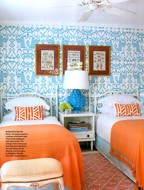 Turquoise and Orange - one of my favorite combos! #turquoise #orange ...