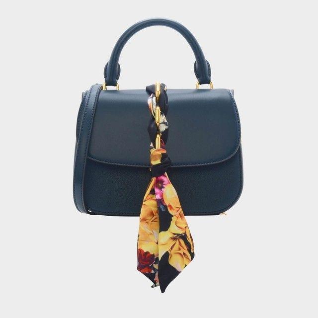 b2378d027f Scarf Buckle Handbag