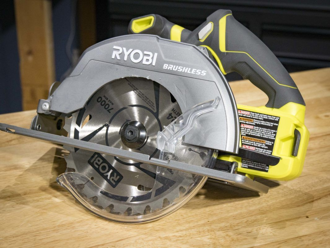 Ryobi p508 18v brushless circular saw blade and ryobi tools scheduled to launch in november the ryobi brushless circular saw will provide longer run times more power and longer motor life greentooth Image collections