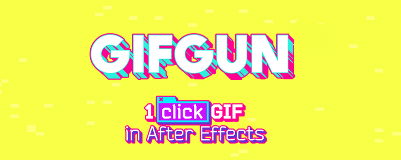 Gifgun After Effects Animation Web Design
