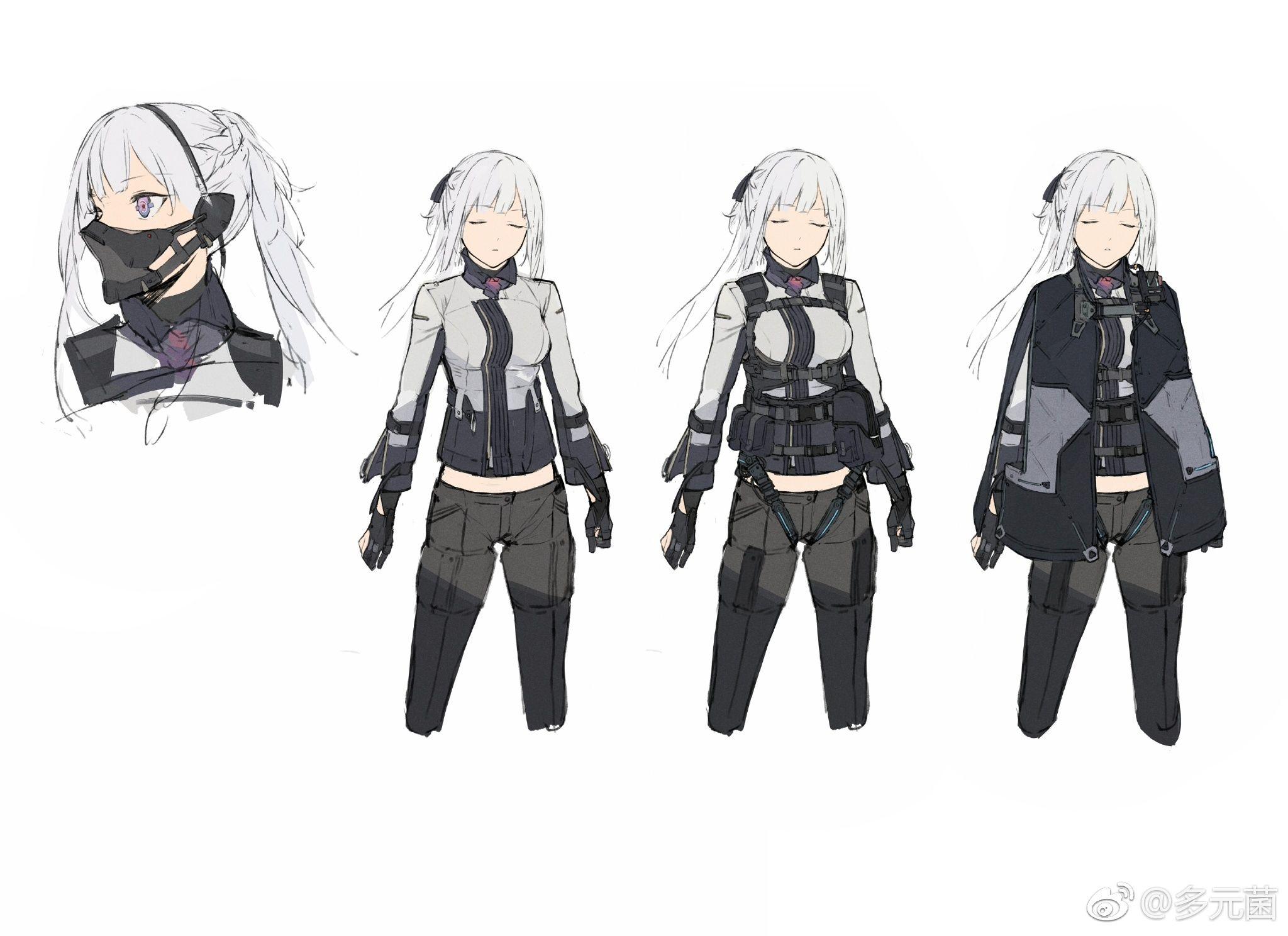 AK-12 - Girls' Frontline Minecraft Skin