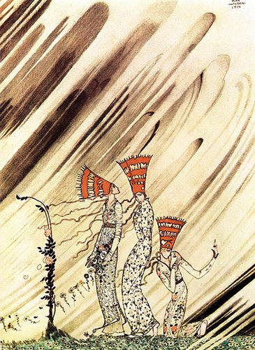 Kay Nielsen - Love will prevail