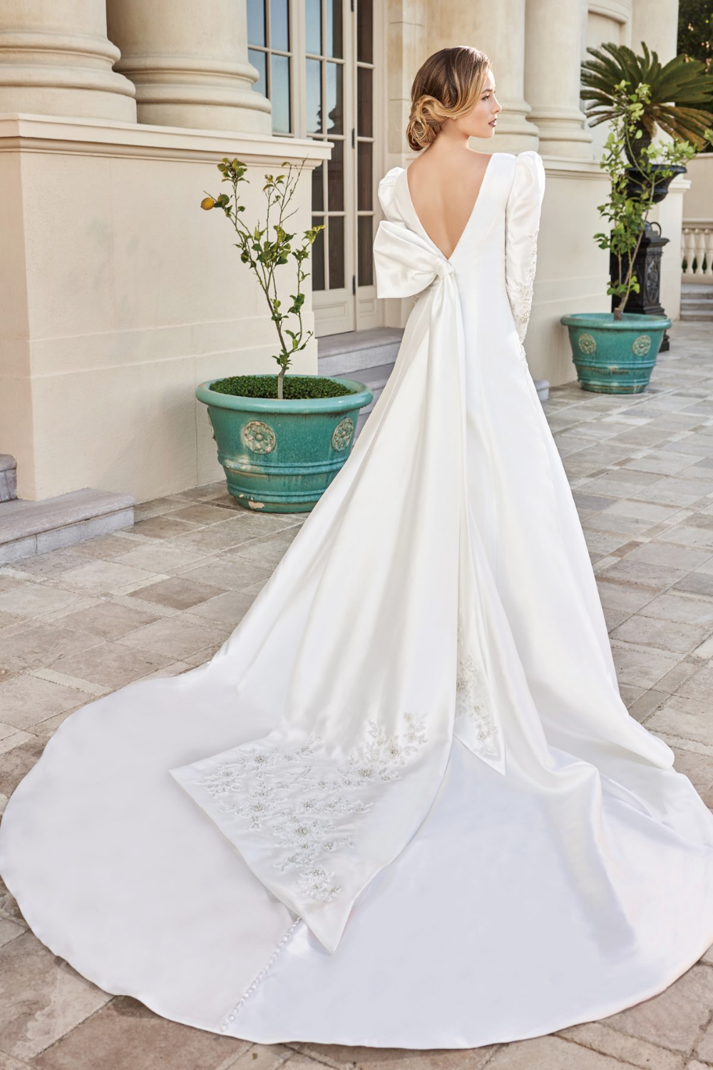 Try This Beautiful Dress From Syb In Manchester Mo T222003 80 S Inspired Mutton Sleeve Mikado Wedding Dress Couture A Line Wedding Dress Boho Bridal Gowns [ 1500 x 1000 Pixel ]