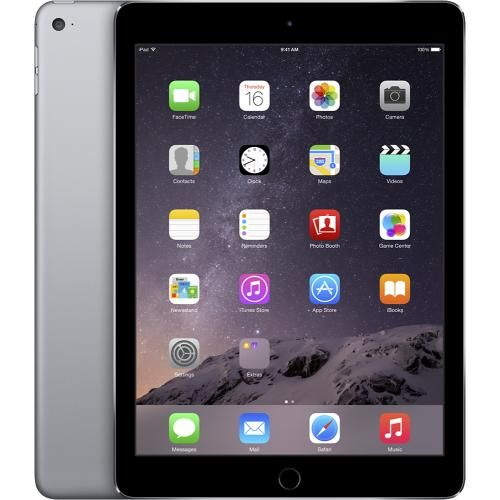 Apple® iPad Air 2 WiFi 64GB Space Gray/Black