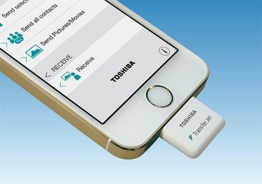 transferjet toshiba dongle | iOS & ANDROID | Ipad