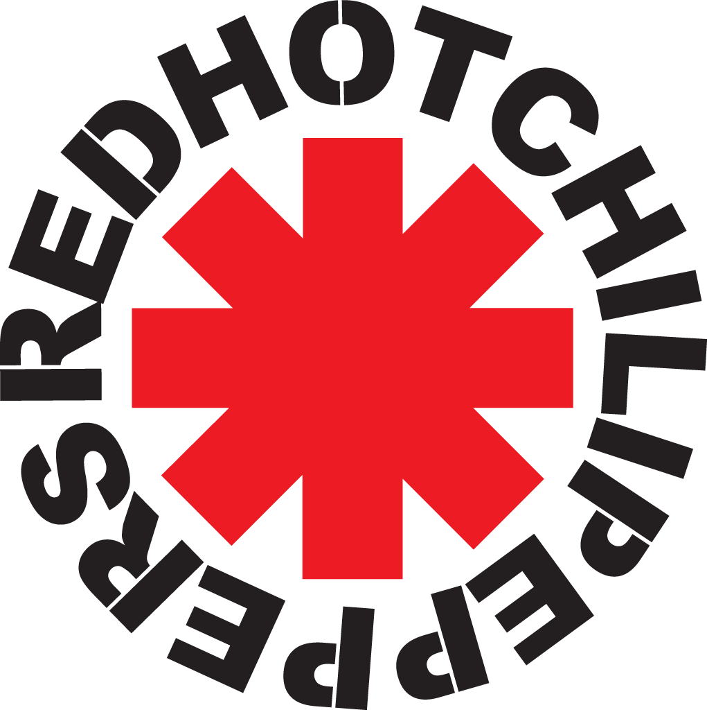 red hot chili peppers logo google search rhcp payne pinterest rh pinterest com classic rock band logo quiz classic rock music band logos