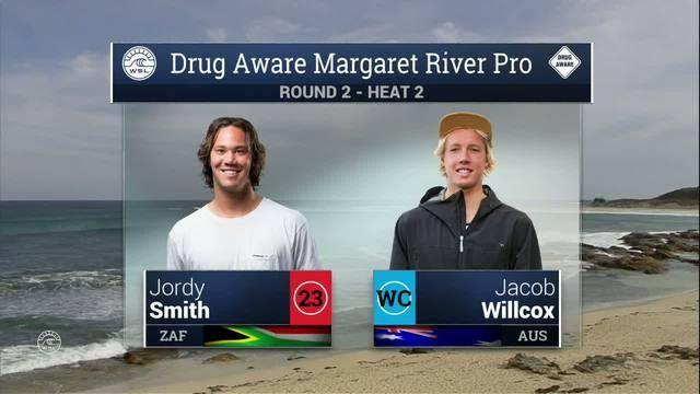 2016 Drug Aware Margaret River Pro: Round 2, Heat 2 Video