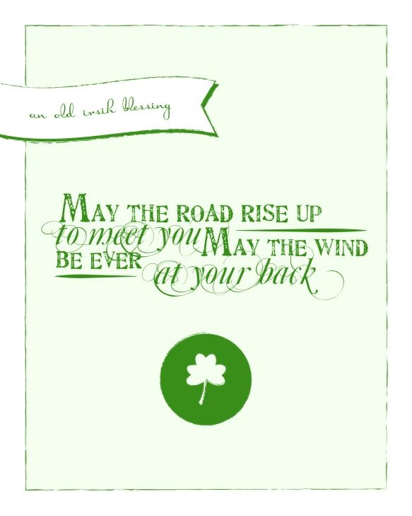 From a new friend - The @SHassemer  LOVE THIS IRISH GRAPHIC!