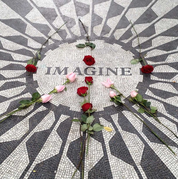 IMAGINE #peace #Beatles