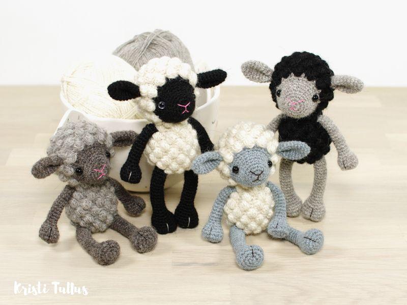 Teeny-Tiny Alpaca Sheep // Pattern by Kristi Tullus (spire.ee ...