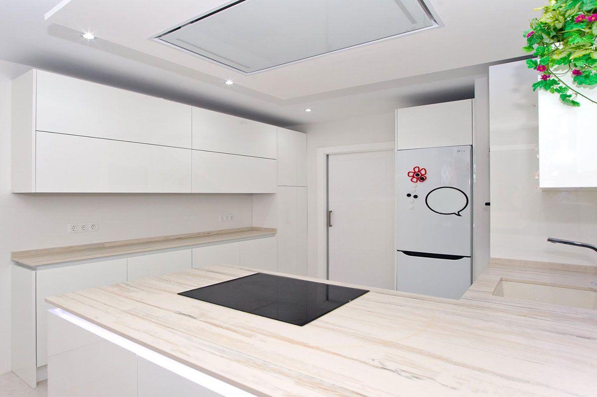 Dise O De Cocina Realizado Por Soinco Cocinas Con Campana De  # Muebles Cocinas Soinco