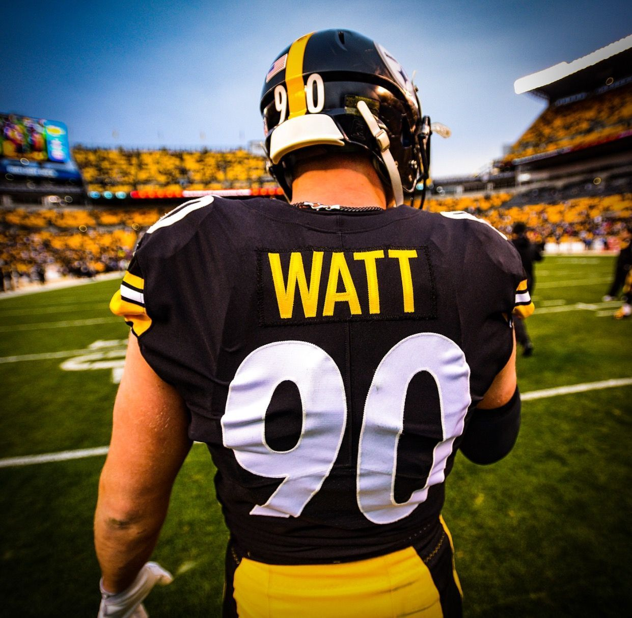 newest 002f6 02a30 PITTSBURGH STEELERS~ T J WATT #90 #NFLFootballBoys ...