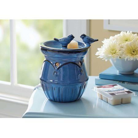 Better Homes and Gardens Scented Wax Warmer, Bird Bath