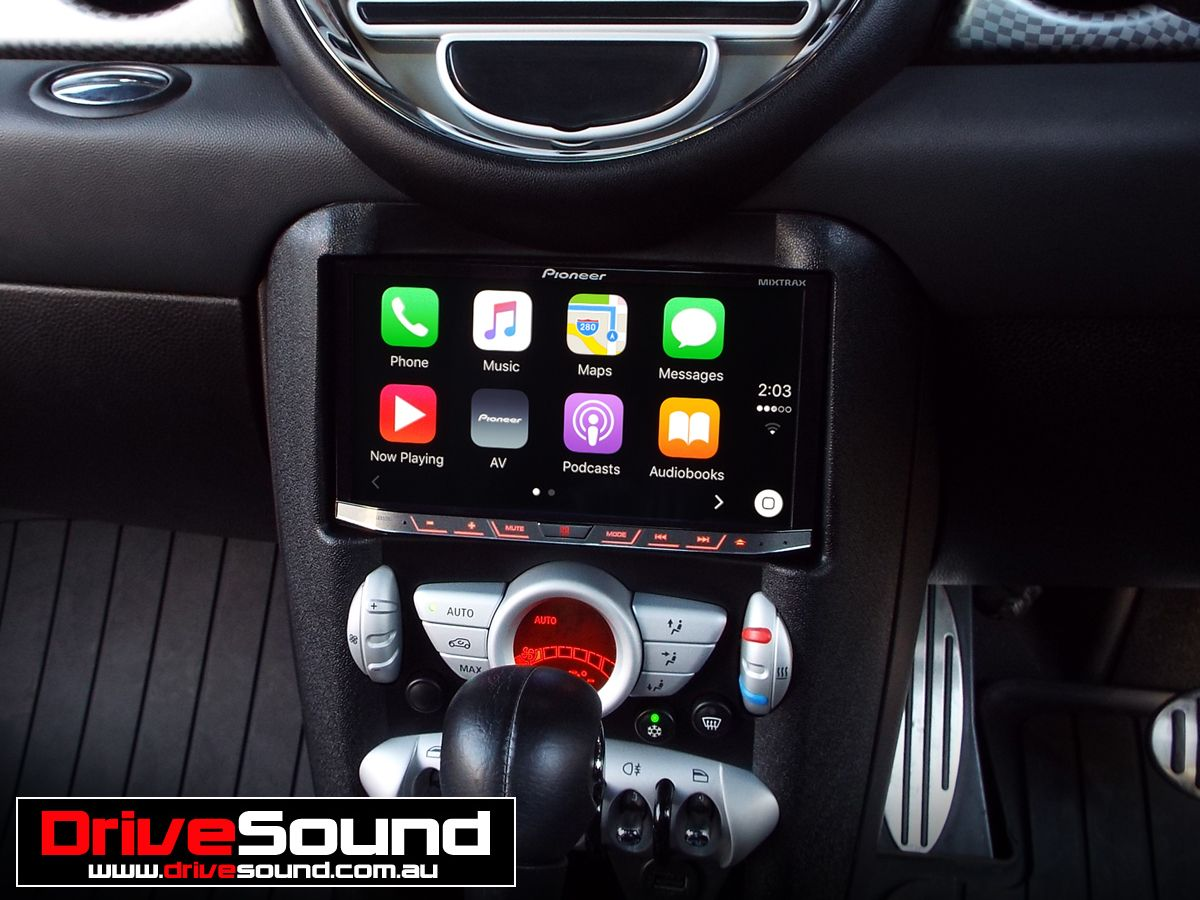 Mini Cooper S With Le Carplay Installed By Drivesound
