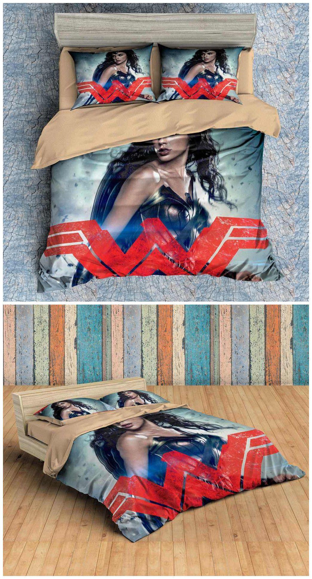 3d Customize Wonder Woman Bedding Set Duvet Cover Set Bedroom Set