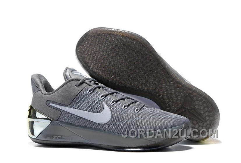 Nike Kobe A.D. 12 Cool Grey White 852425-010 Cheap To Buy NYGPs, Price:  $68.44 - New Air Jordan Shoes 2016