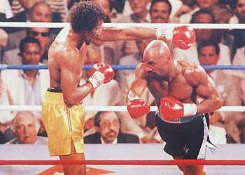 Boxing The Greatest Rounds Of All Time Marvelous Marvin Hagler Boxing History Boxing Images