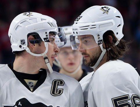 Crosby And Letang Pittsburgh Penguins Hockey Penguins Hockey Pittsburgh Penguins