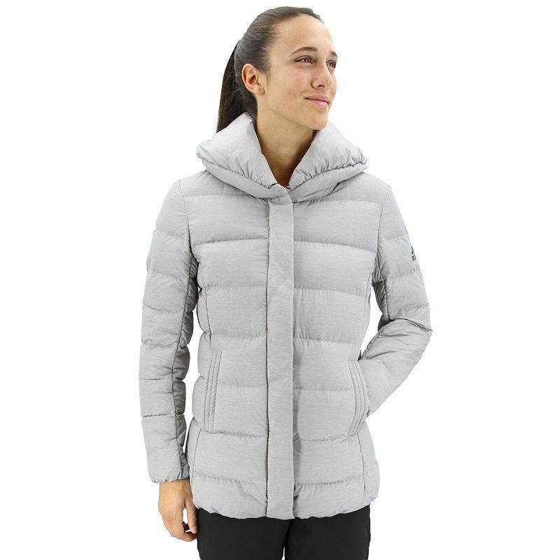 8c702ebb2 Women's adidas Outdoor Nuvic Down-Fill Heather Puffer Jacket ...