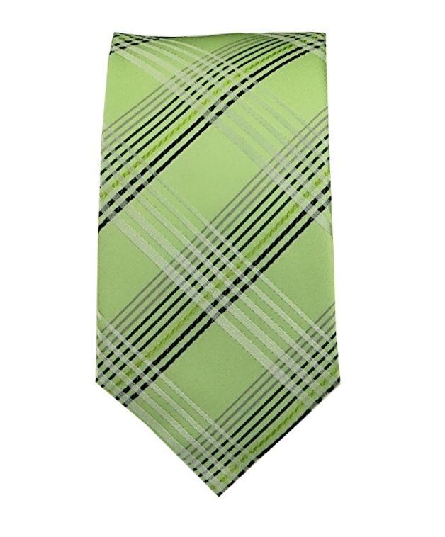 Krawatten - BINDER de LUXE schmale KRAWATTE Grün 562 - ein Designerstück von Binder-de-Luxe bei DaWanda