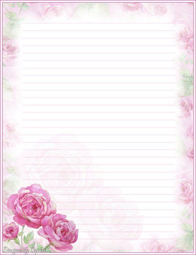 Designer writing paper