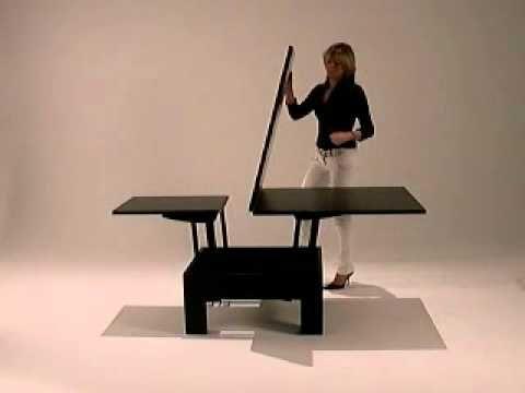 Basic Quadrato Square Coffee table into dining table decor