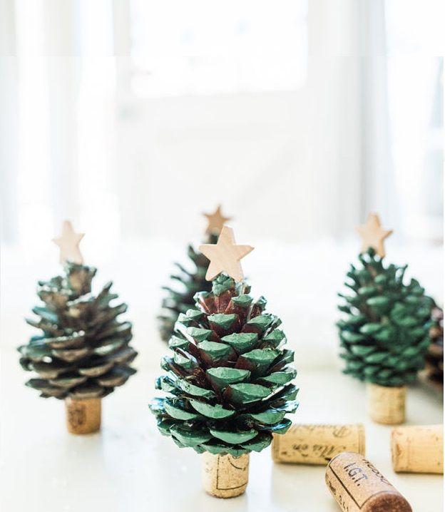 Divertidas manualidades para Navidades con las que podemos decorar nuestro hogar