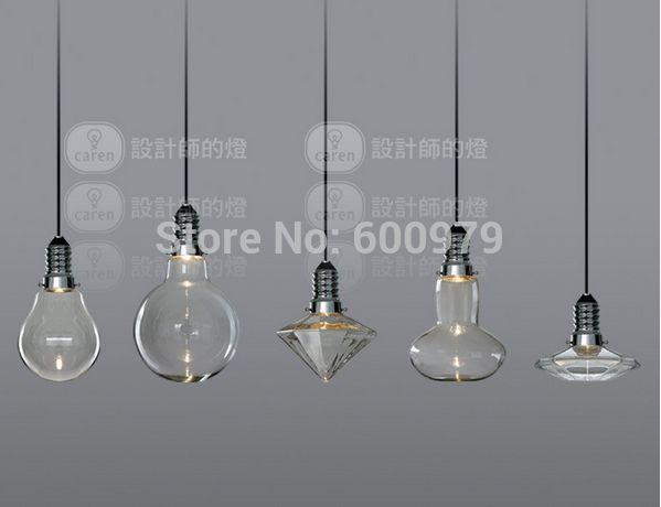 Aliexpress.com: Koop moderne creatieve glazen hanglampen kristallen ...
