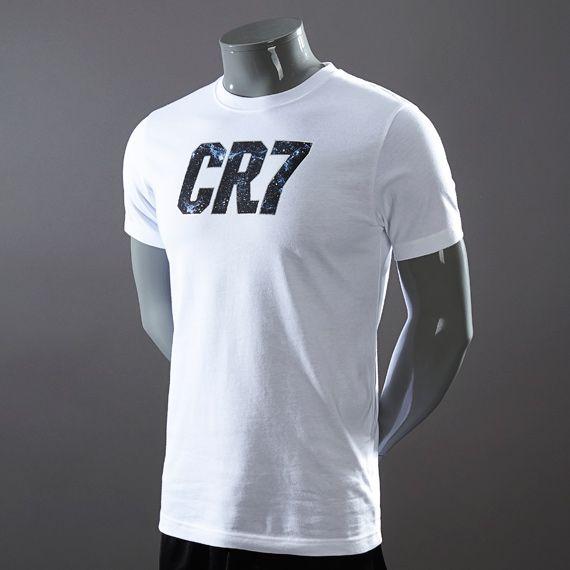 Nike CR7 Core T-Shirt - White  PDSMostWanted  a8038e757ad3d