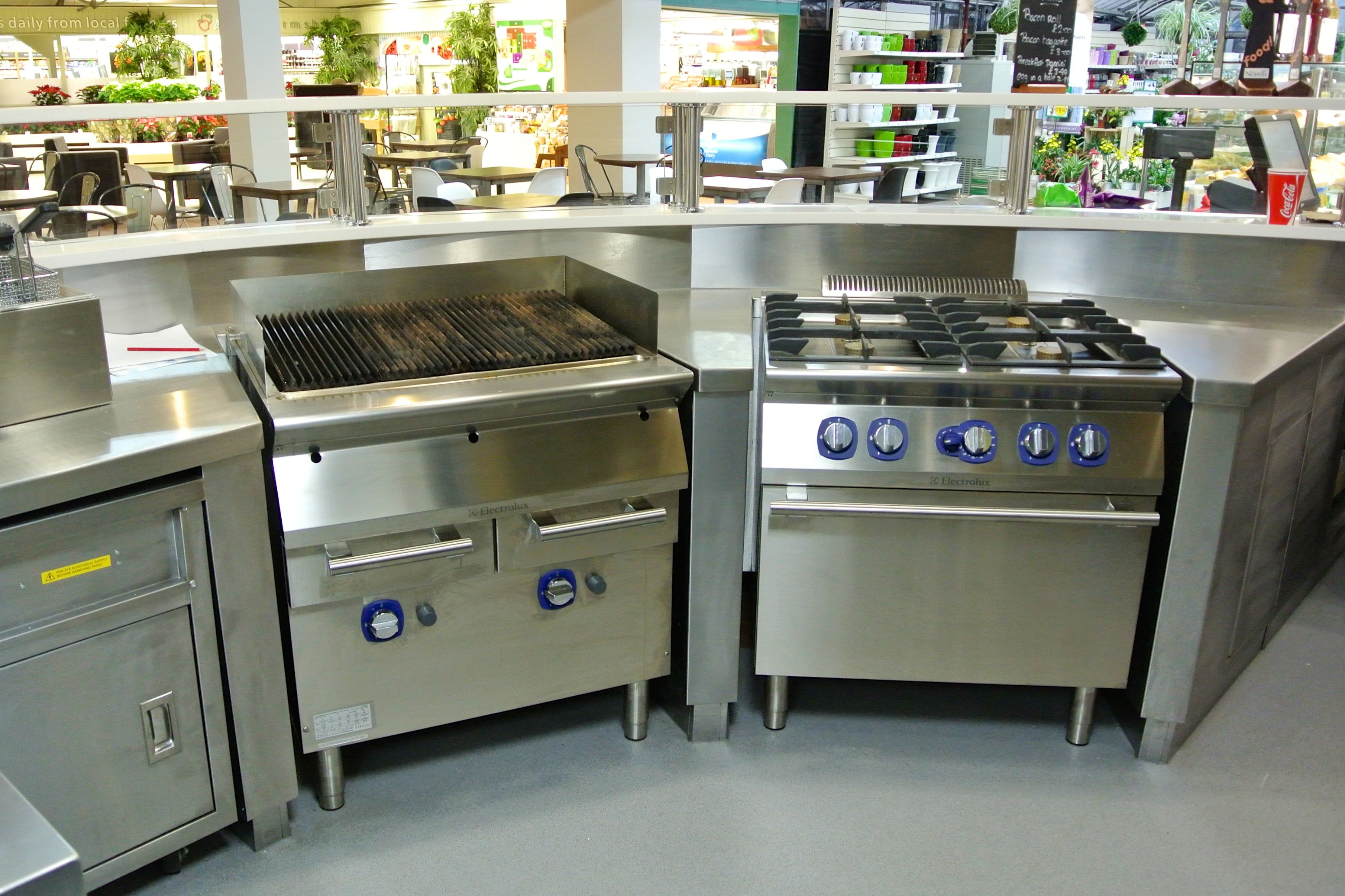 ifse designed and installed catering kitchen facilities at polhill