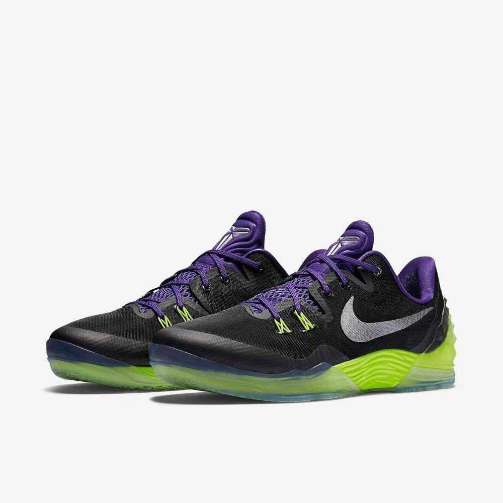ddc81eceada Nike Zoom Kobe Venomenon 5 Mens Basketball Shoes 11 Black Purple Volt 749884  005  Nike  BasketballShoes