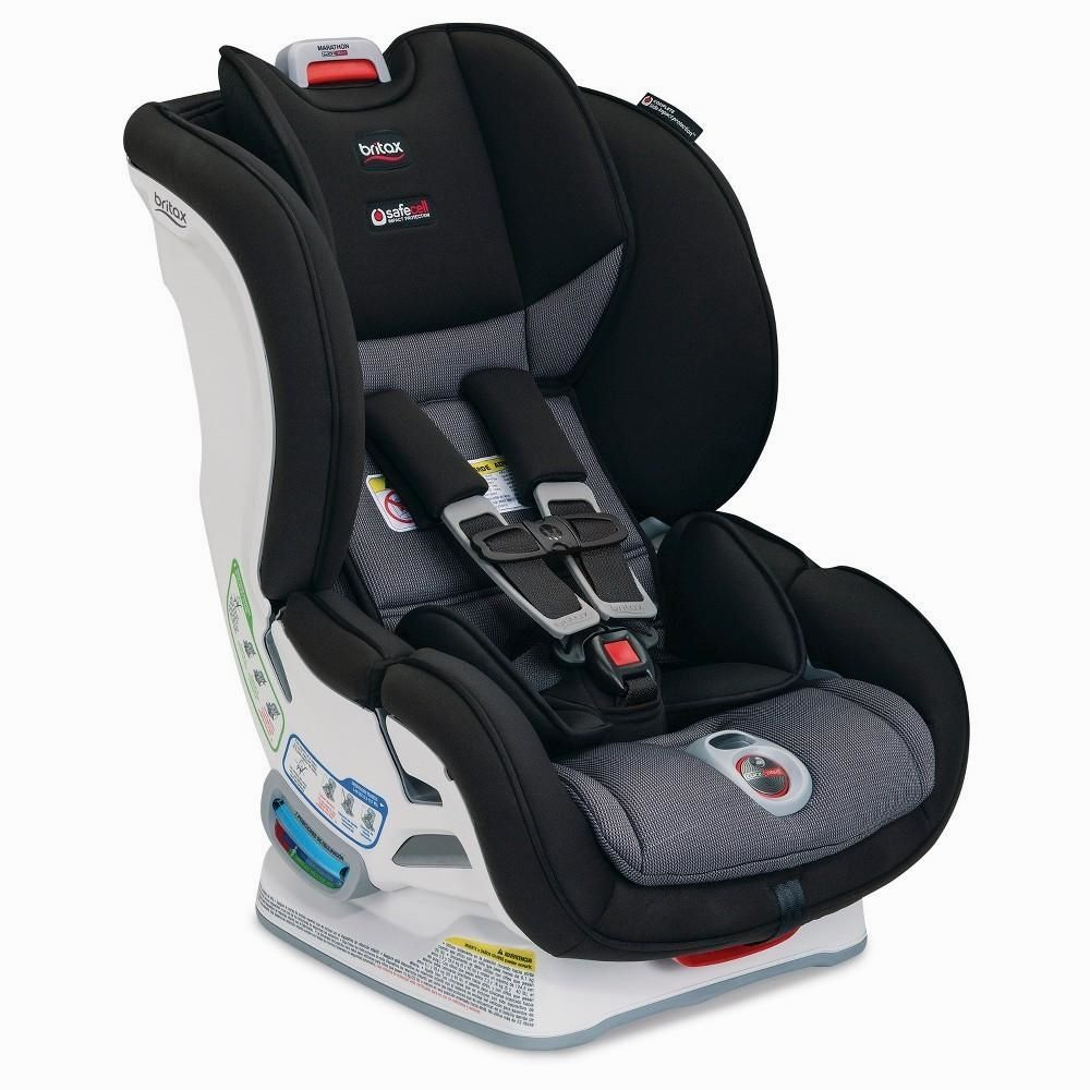 Britax USA Marathon Click Tight Convertible Car Seat ClickTight Can Be Used As Both A Rear Facing For Children Pounds