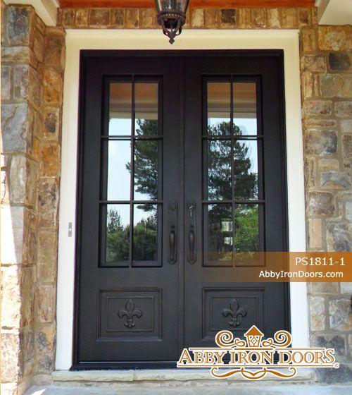 Abby Iron Doors & Abby Iron Doors   new home   Pinterest   Iron Doors and Double ... pezcame.com