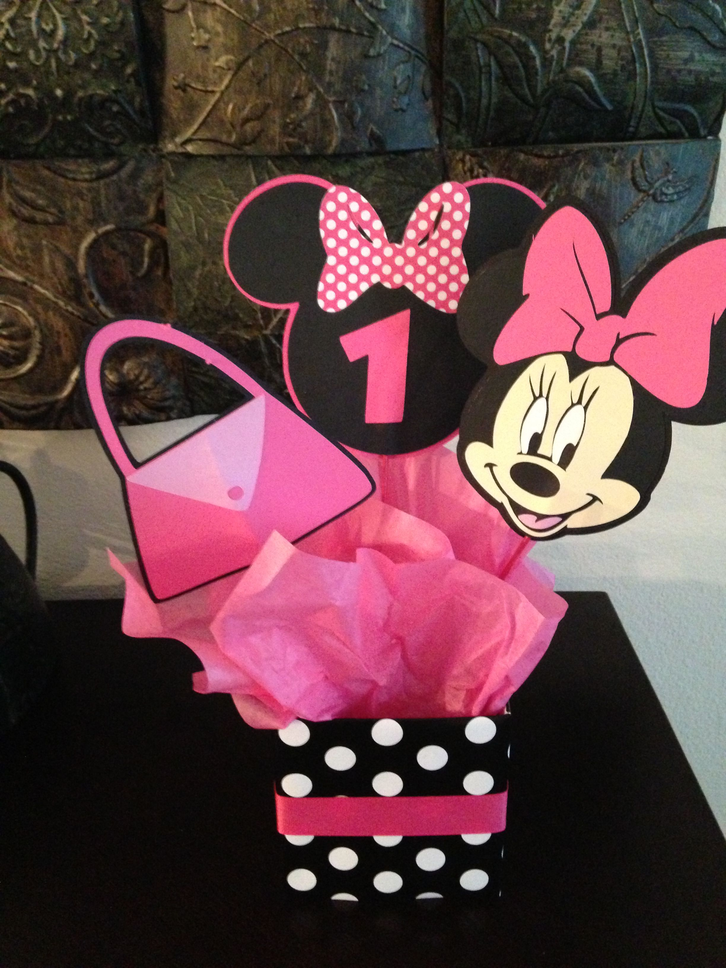 Minnie Mouse Party Decorations Jaycie Birthday Pinterest