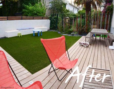 Relooking Une Terrasse En Bois A Marseille Les Photos Avant Et Apres Amenagement Jardin Petits Jardins Jardin De Ville