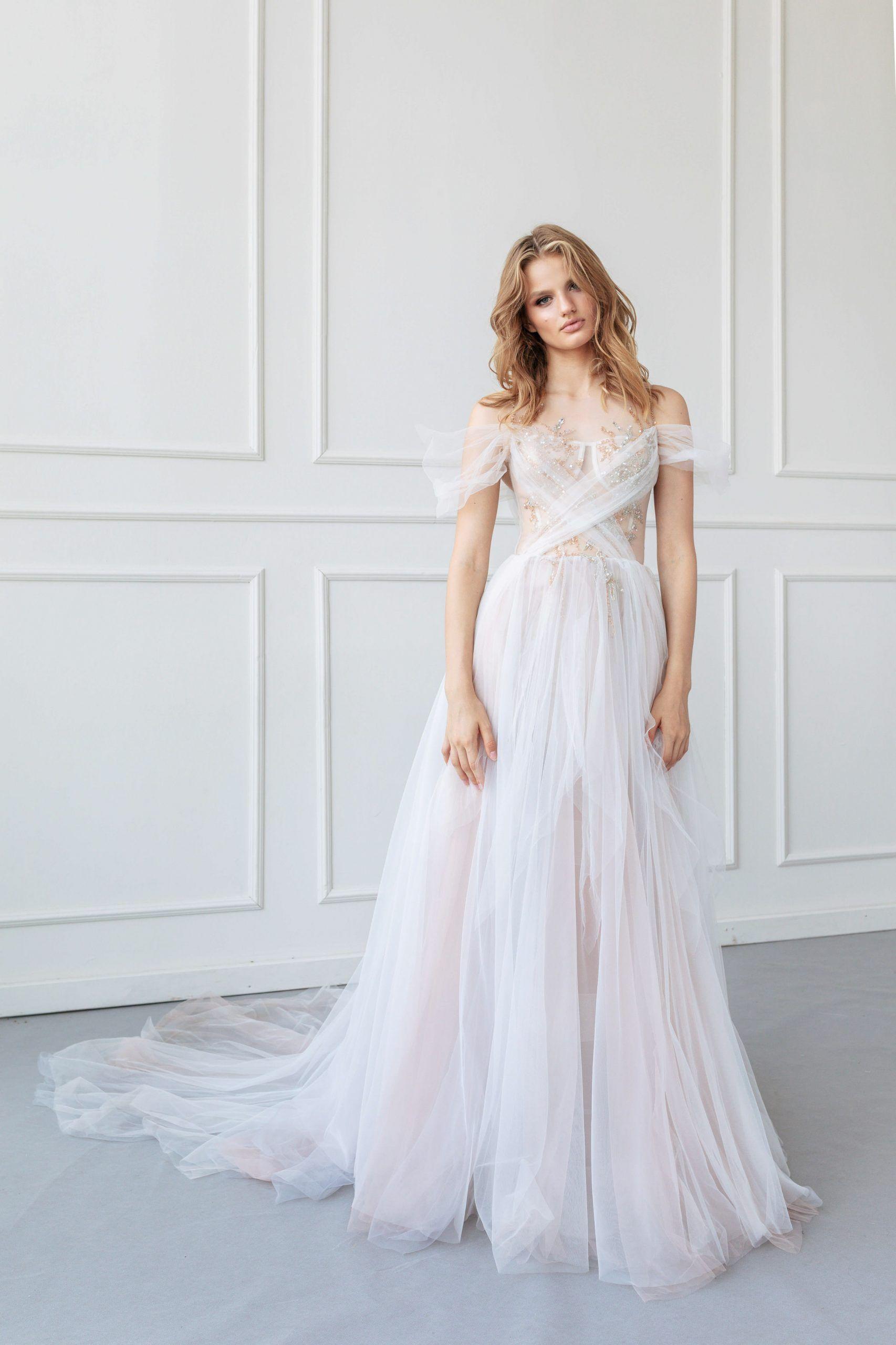 Wedding Gown Ange Etoiles Jastine Luxx Nova A Line Wedding Dress Wedding Dresses Dresses [ 2560 x 1706 Pixel ]