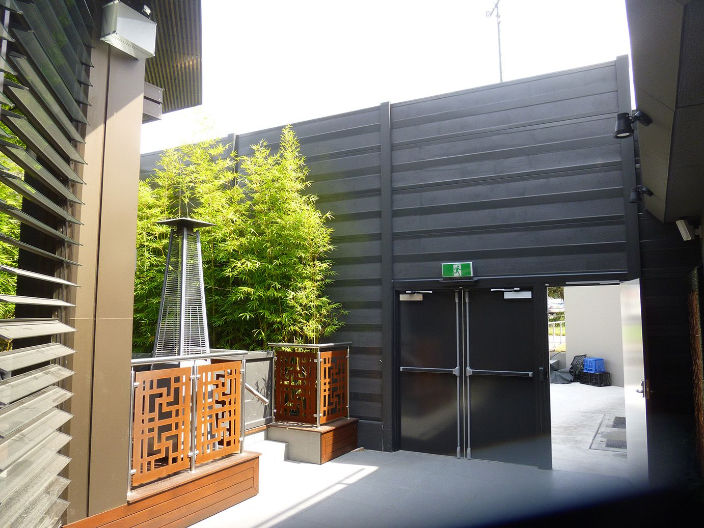 AcoustiSorb™ Container house, Sound absorbing, Beer garden