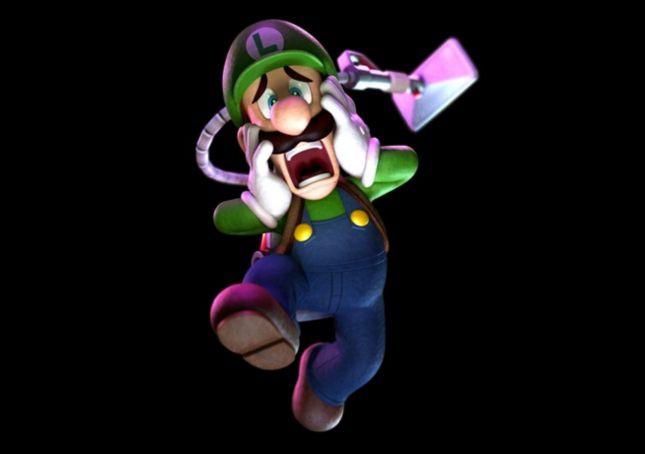 Luigi's Mansion 2 Luigi Screaming Art | Super Mario