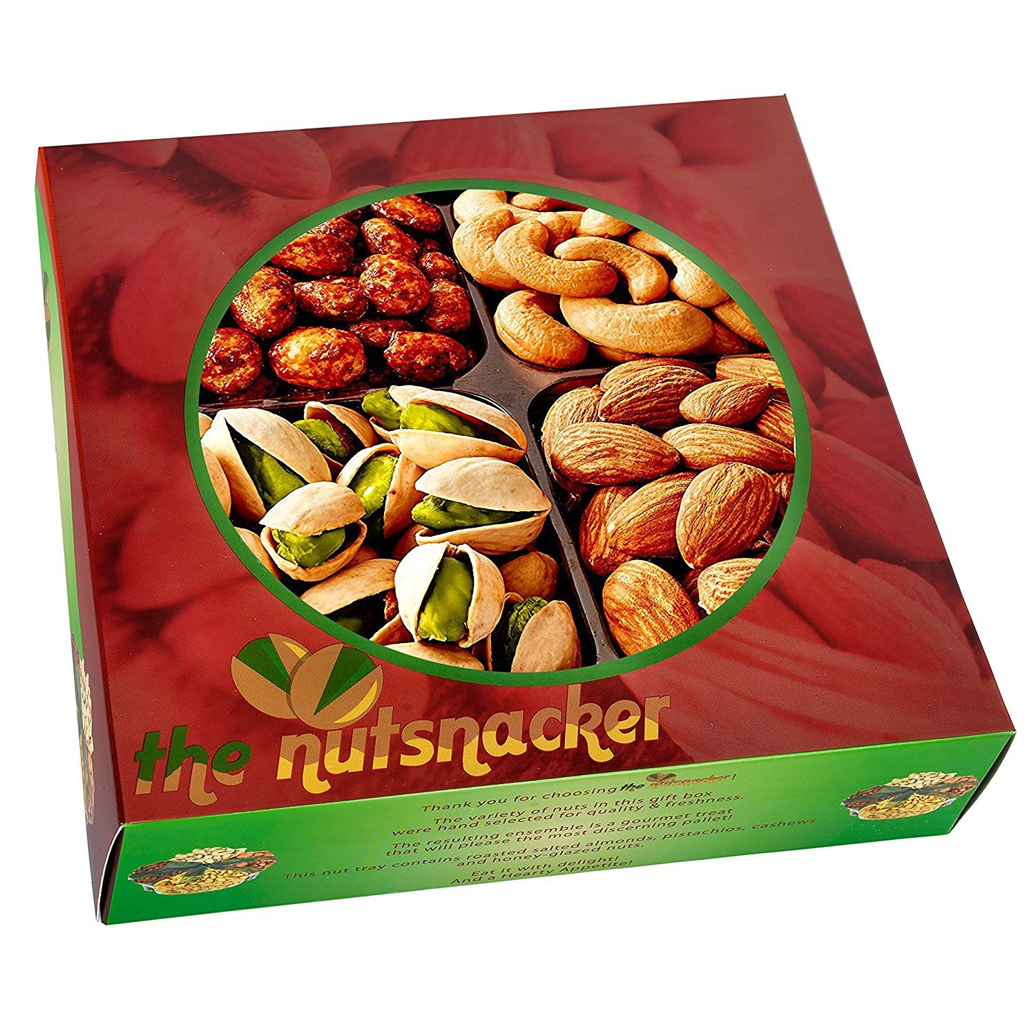 The Nutsnacker Delicious Roasted Healthy Nuts Christmas ...