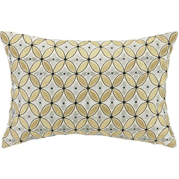 D.L. Rhein Delphinium Embroidered Decorative Pillow $110
