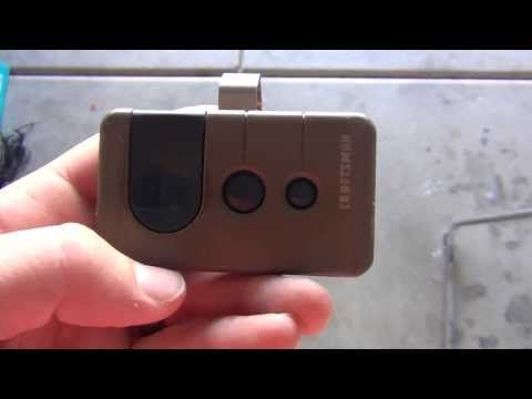 How To Program A Craftsman Garage Door Opener Remote Youtube