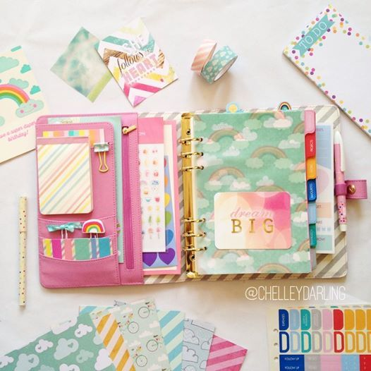 another planner page from ChelleyDarling!