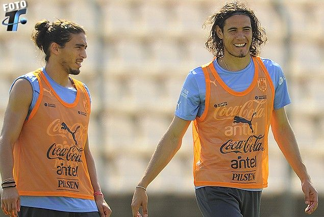 Image result for edinson cavani martin caceres