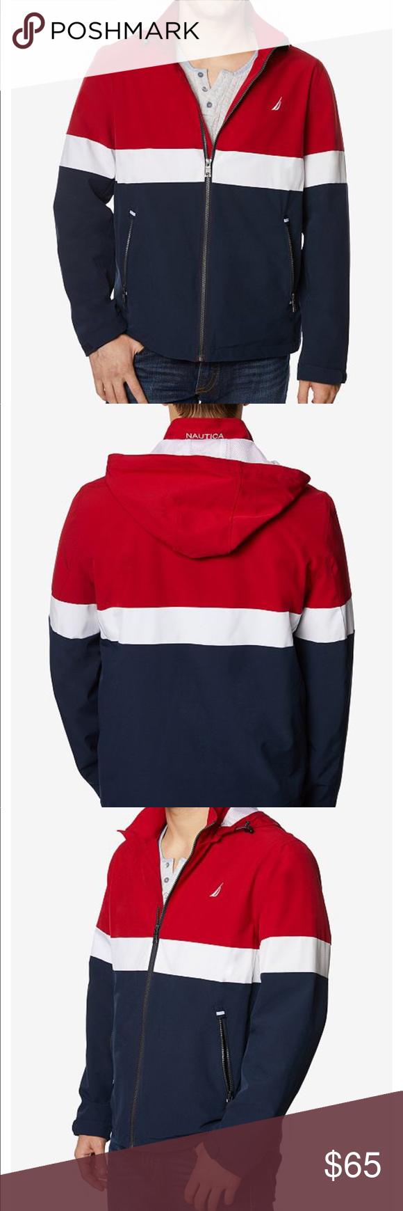 Nwt Men S Nautica Jacket Clothes Design Jackets Fashion [ 1740 x 580 Pixel ]
